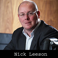 Rogue trader Nick Leeson gets Irish partnership as financial adviser