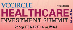 Block your calendar for VCCircle Healthcare Investment Summit 2013