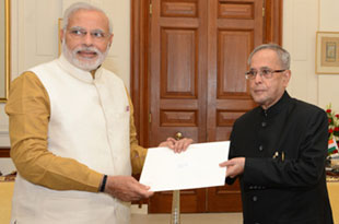 Narendra Modi appointed as new Prime Minister, to be sworn in on May 26