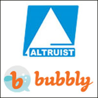 Mobile VAS company Altruist acquires Singapore-based social media startup Bubbly