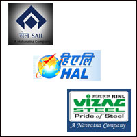 Govt to sell part stake in SAIL, RINL, HAL in FY15
