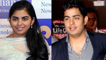 Ambani siblings Isha & Akash inducted in board of Reliance Jio & Reliance Retail