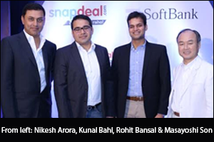 SoftBank investing $627M in Snapdeal