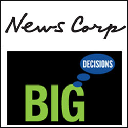 News Corp acquires personal finance planning portal BigDecisions.com