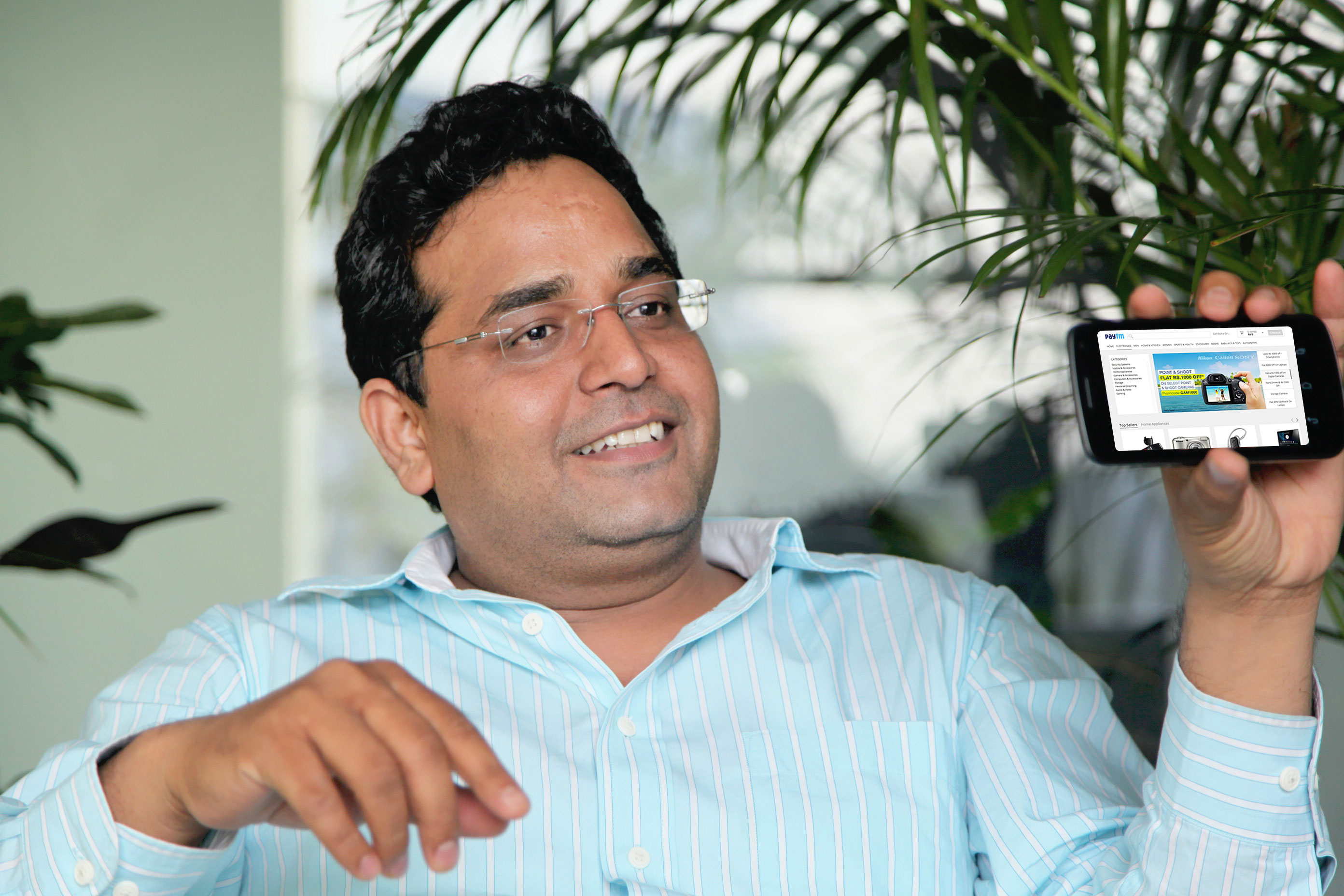 Paytm parent One97 raising $635M from Alibaba Group, SAIF; valued just over $2B