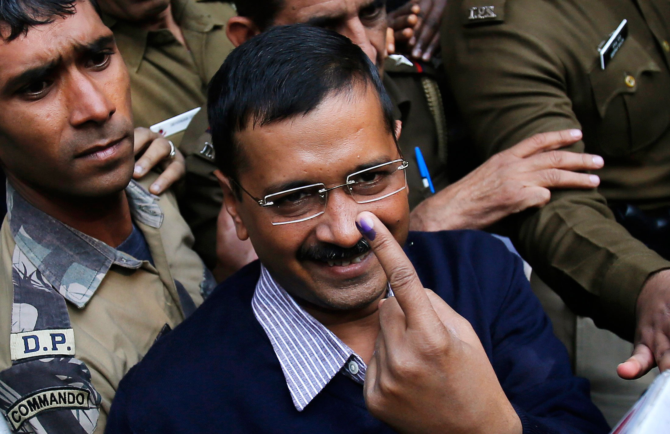 AAP set to win with a clear majority in Delhi: Exit polls