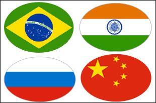 India grows faster than BRICS
