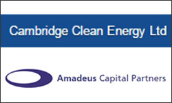 Cleantech firm Cambridge Clean Energy raises $21M from Amadeus Capital, others