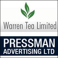 Kolkata-based Warren Tea picks around 9% stake in Pressman Advertising