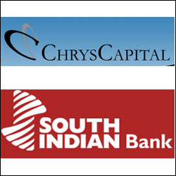 ChrysCapital invests $8M in South Indian Bank