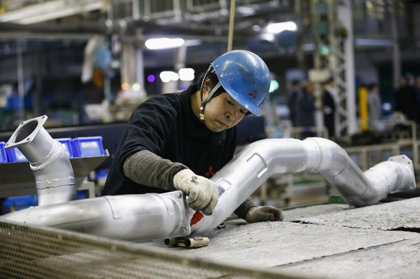 Industrial growth better-than-expected though still muted; inflation up marginally