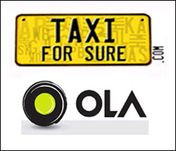 What does Ola gain from TaxiForSure?