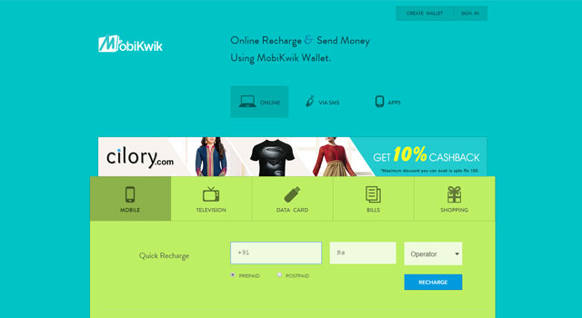 Online recharge & mobile wallet MobiKwik raises $25M from Tree Line, others