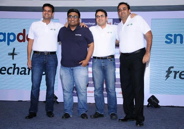 Snapdeal acquires FreeCharge to build a larger play on mobile commerce