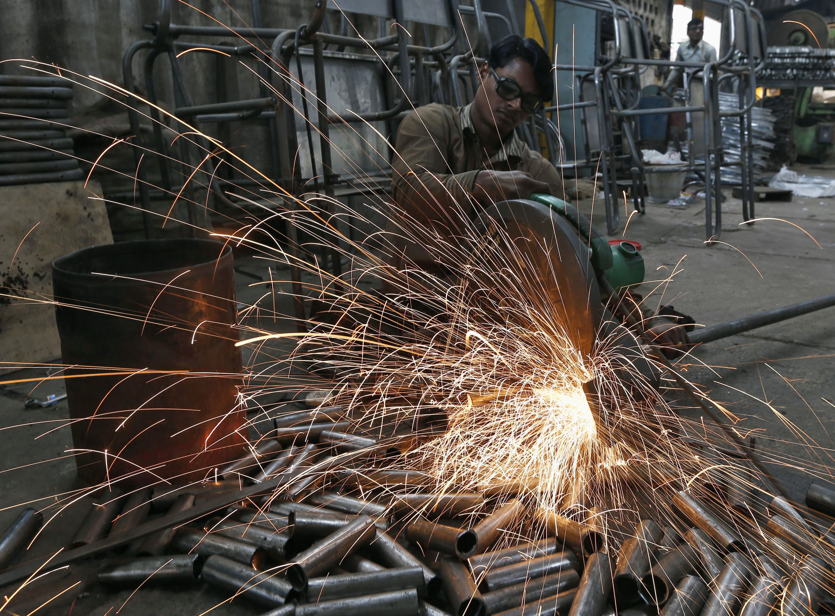 Service sector activity skids to three-month low in April