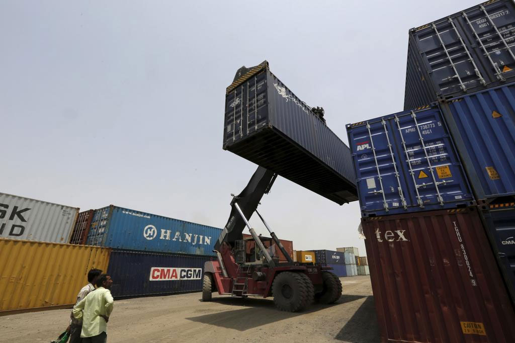Exports slump for fifth straight month in April