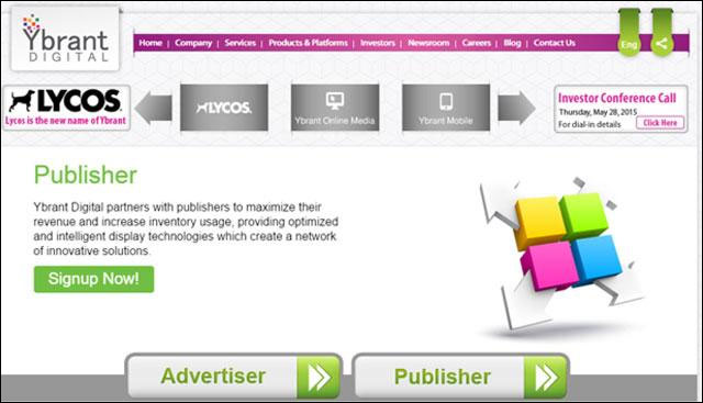 Digital market firm Lycos puts technology patents on the block