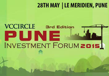 Mapping Pune's entrepreneurial ecosystem @ VCCircle Pune Investment Summit 2015; block your calendar