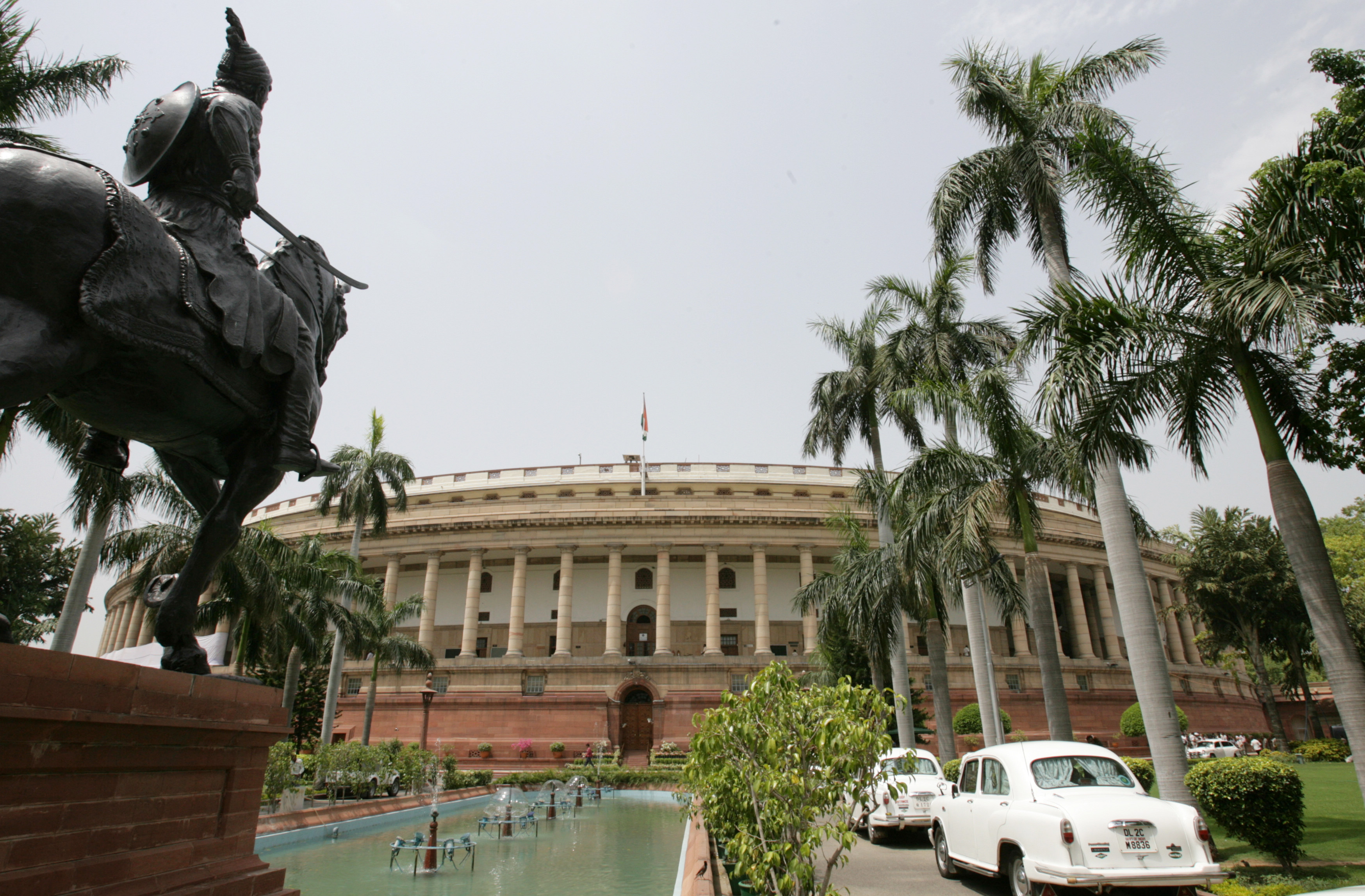 Rajya Sabha names 10 members to join panel on land bill