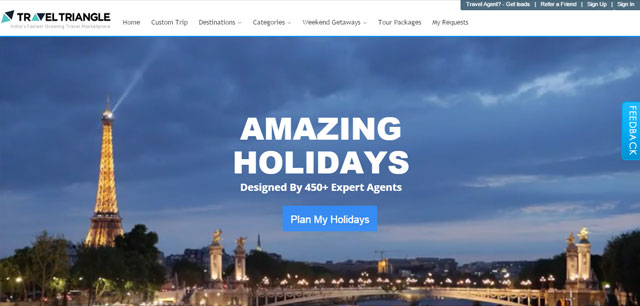 TravelTriangle raises $8M from Bessemer Venture Partners and SAIF Partners