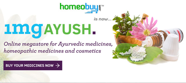 Online marketplace for drugs 1mg acquires homeobuy.com for alternative medicines play