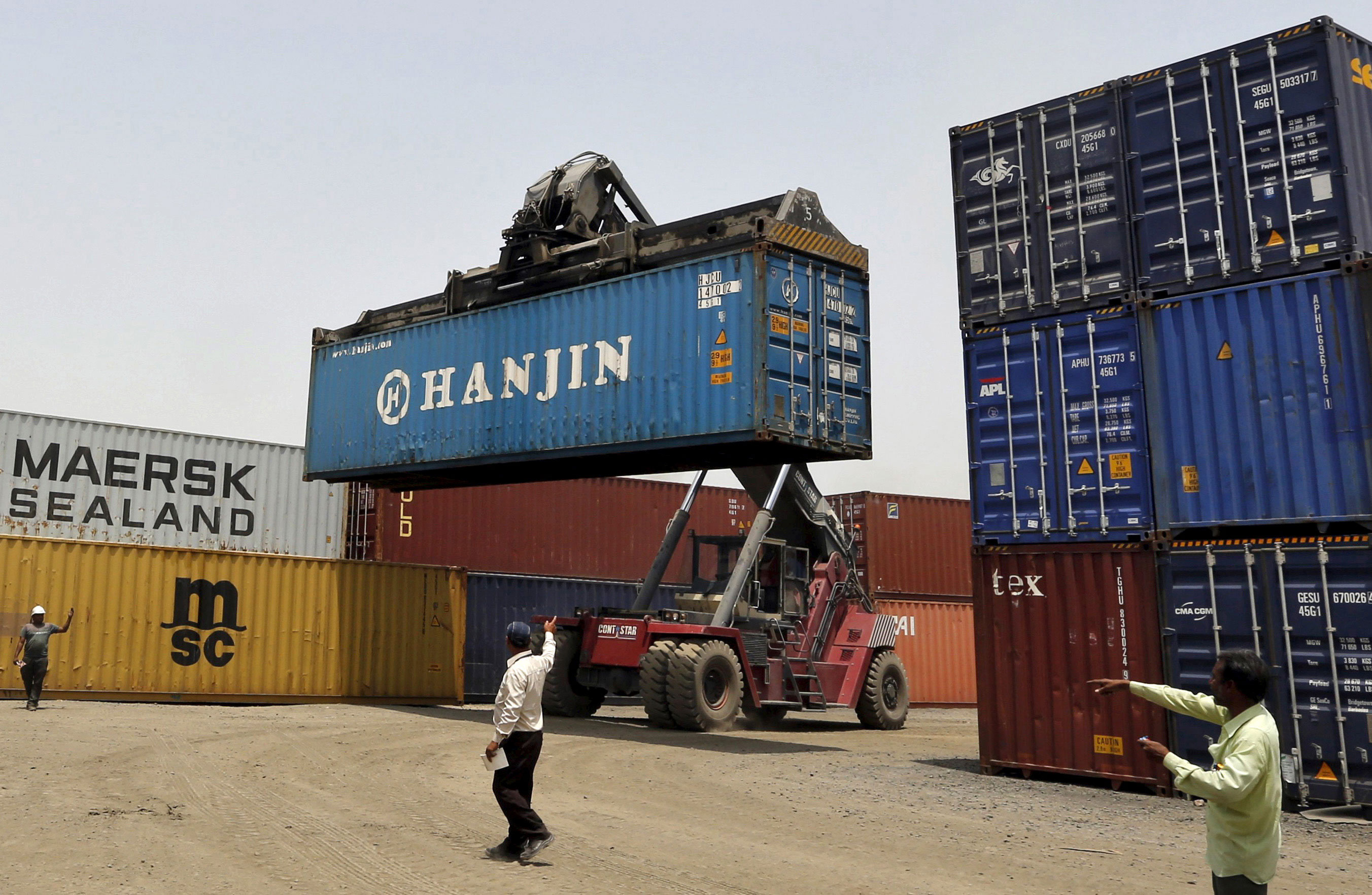 Exports fall for sixth straight month