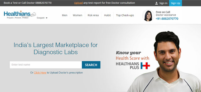 Online marketplace for preventive health check-up Healthians raises funding from YouWeCan