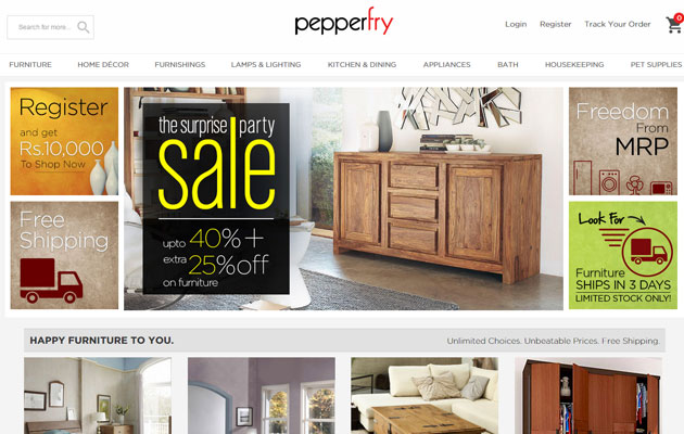 Pepperfry raises $100M from Goldman Sachs, Zodius & others
