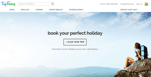 Vacation packages portal TripFactory secures Series A funding from Aarin Capital