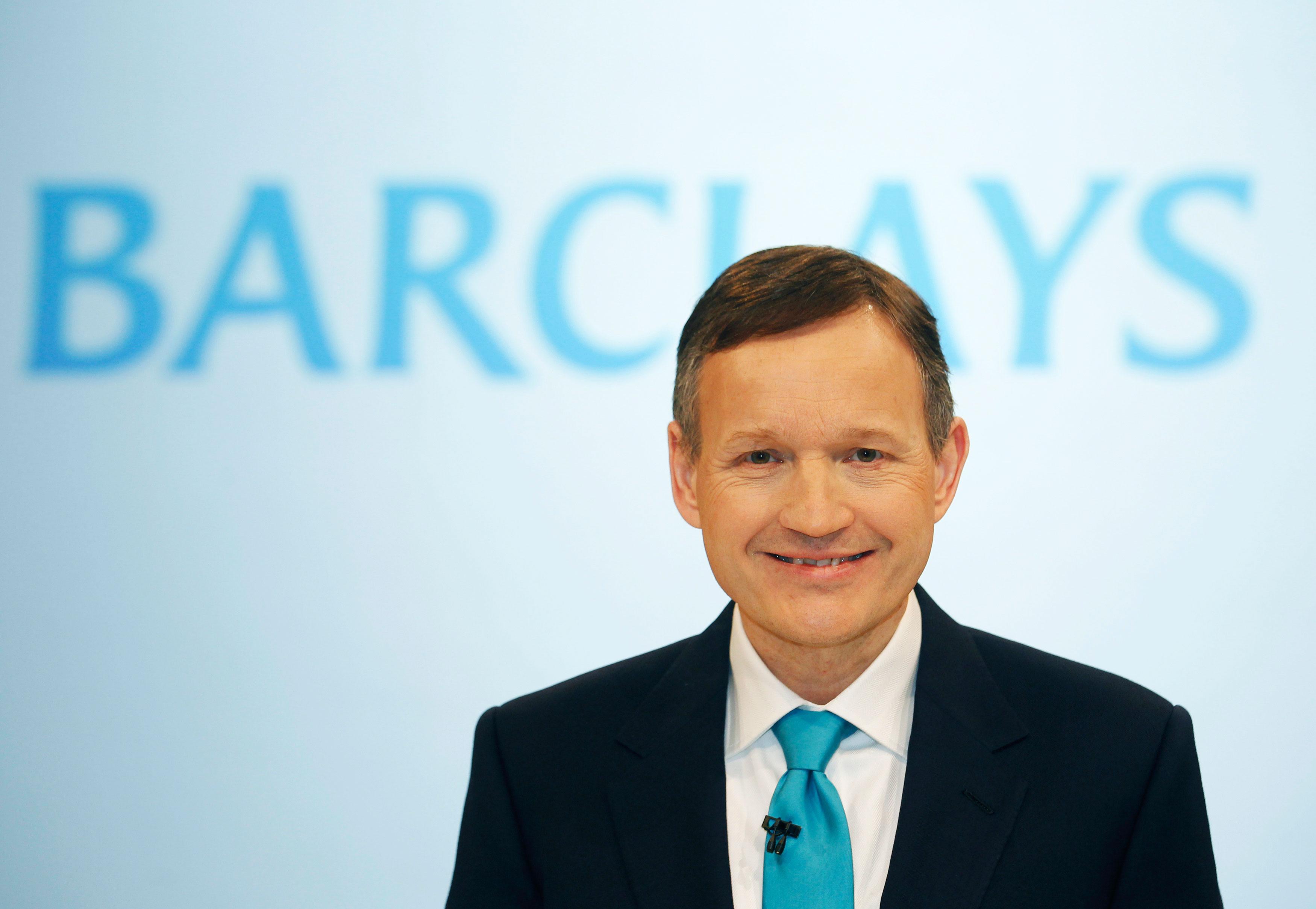 Barclays sacks CEO Antony Jenkins