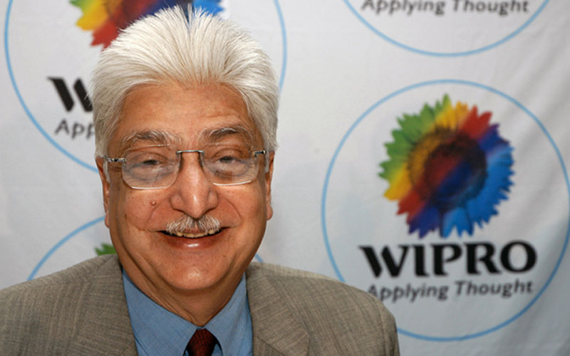 Premji gives half of his stake in Wipro for charity