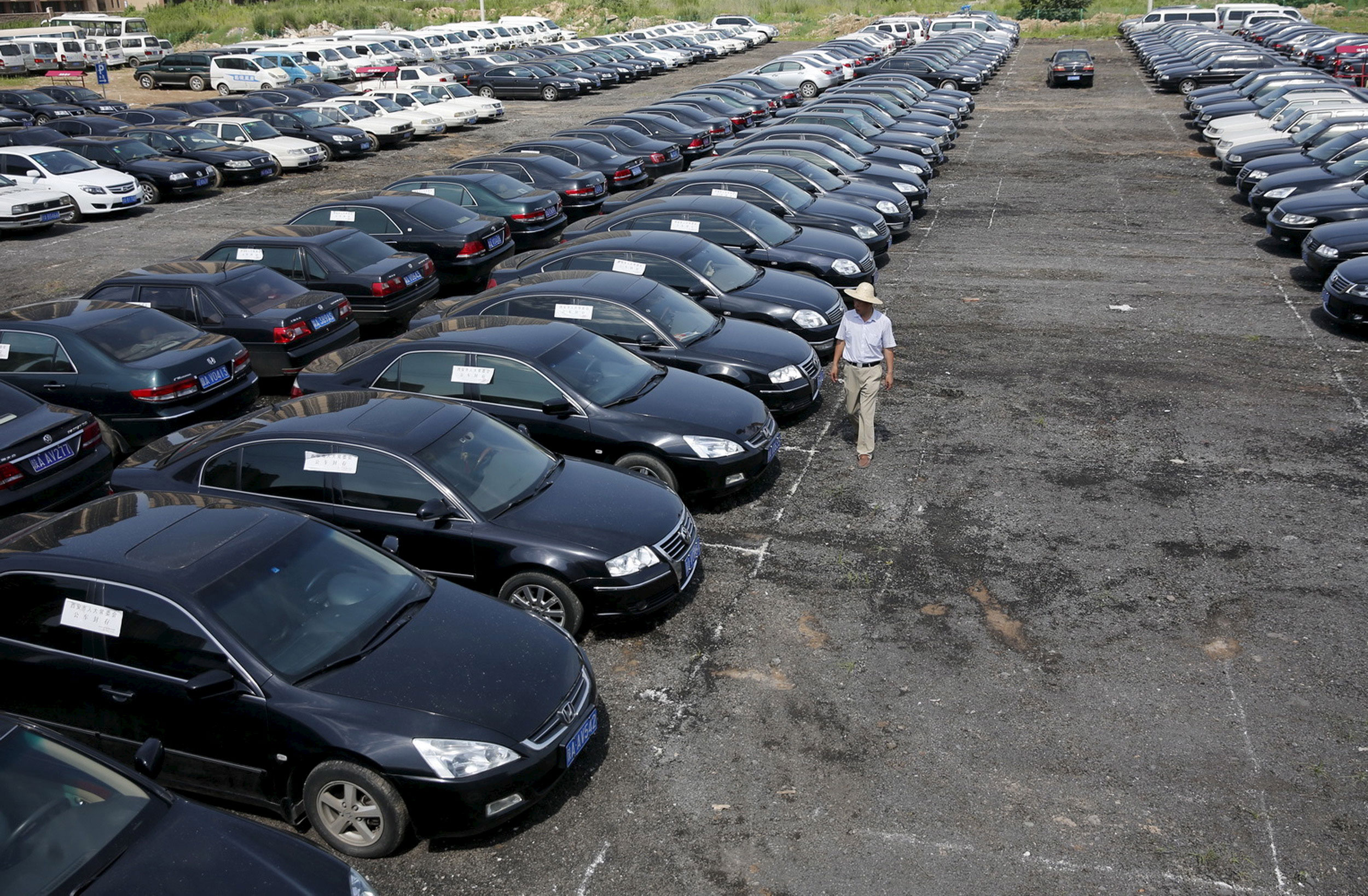 Car sales growth skids in June