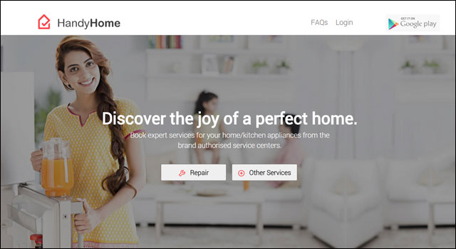 On-demand electronics services startup HandyHome secures $500K from Bessemer, Kae Capital