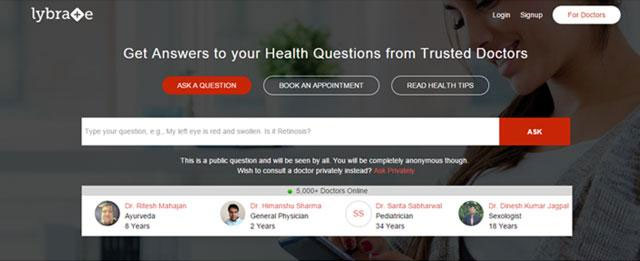 Online heathcare startup Lybrate raises over $10M from Tiger Global & Ratan Tata
