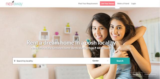 Online marketplace for shared accommodation Nestaway raises $12M from Flipkart, Tiger Global