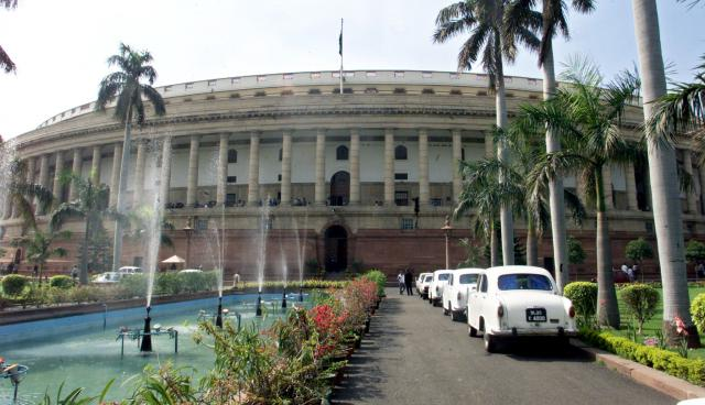 First day of Monsoon Session of Parliament washed out