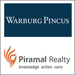 Warburg Pincus to invest $284M in Piramal Realty