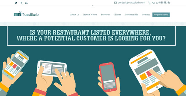 Digital marketing platform for restaurants MassBlurb raises angel funding