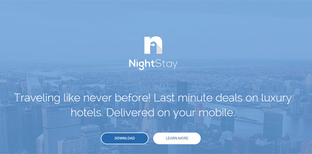 Last minute hotel bookings app NightStay raises $500K in seed funding