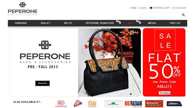 Handbags maker Peperone in talks with PE firms to raise around $5M