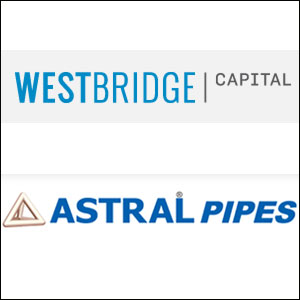 WestBridge exits Astral Poly Technik with seven-fold gains