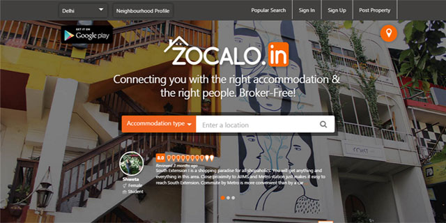 Brokerage-free rentals marketplace Zocalo raises seed funding