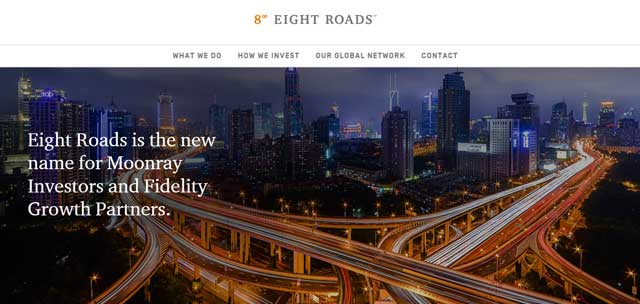 Fidelity Growth Partners India rechristened as Eight Roads Ventures