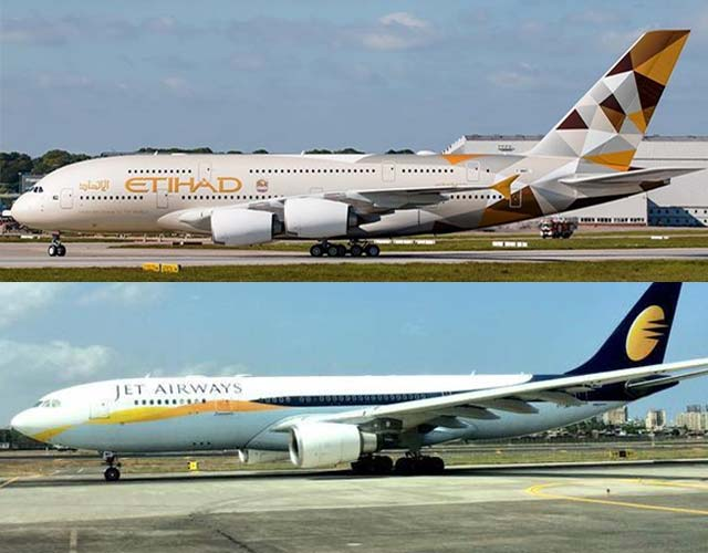 Etihad raises $500M; to invest around $80M in Jet Airways