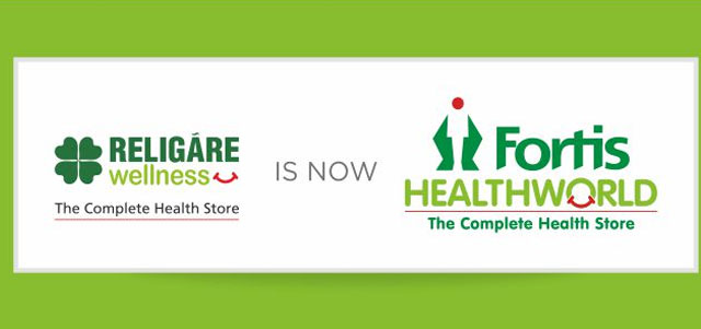 Religare Wellness rebranded as Fortis Health World