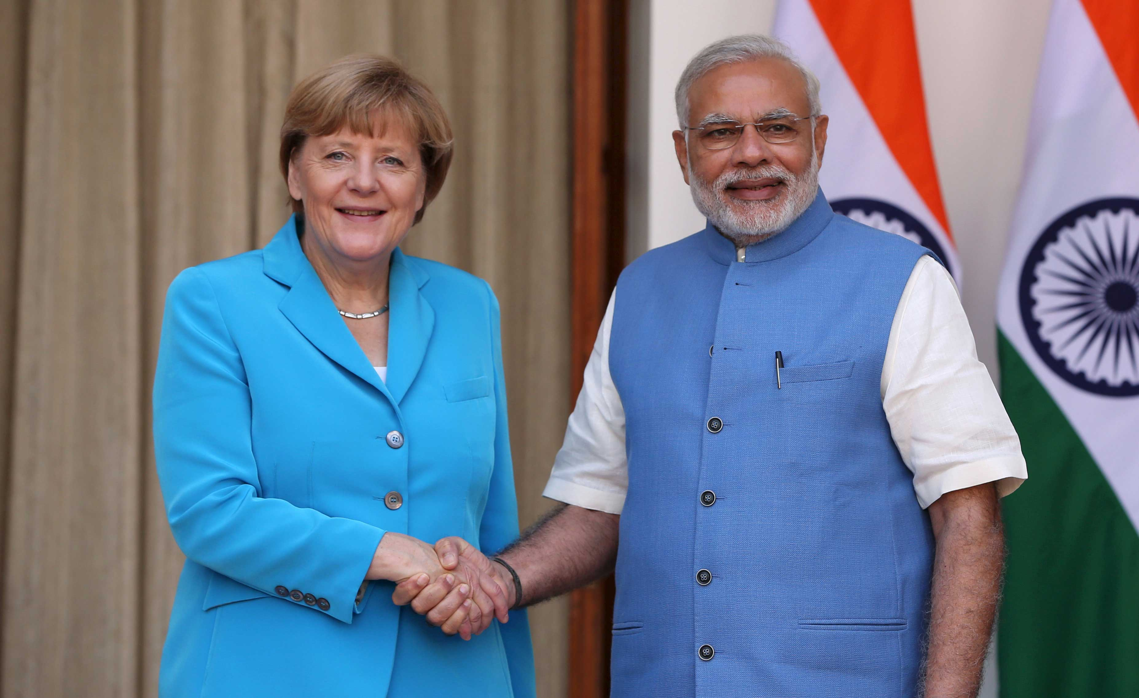 Modi, Merkel ink 18 pacts including $2.25B deal for clean energy
