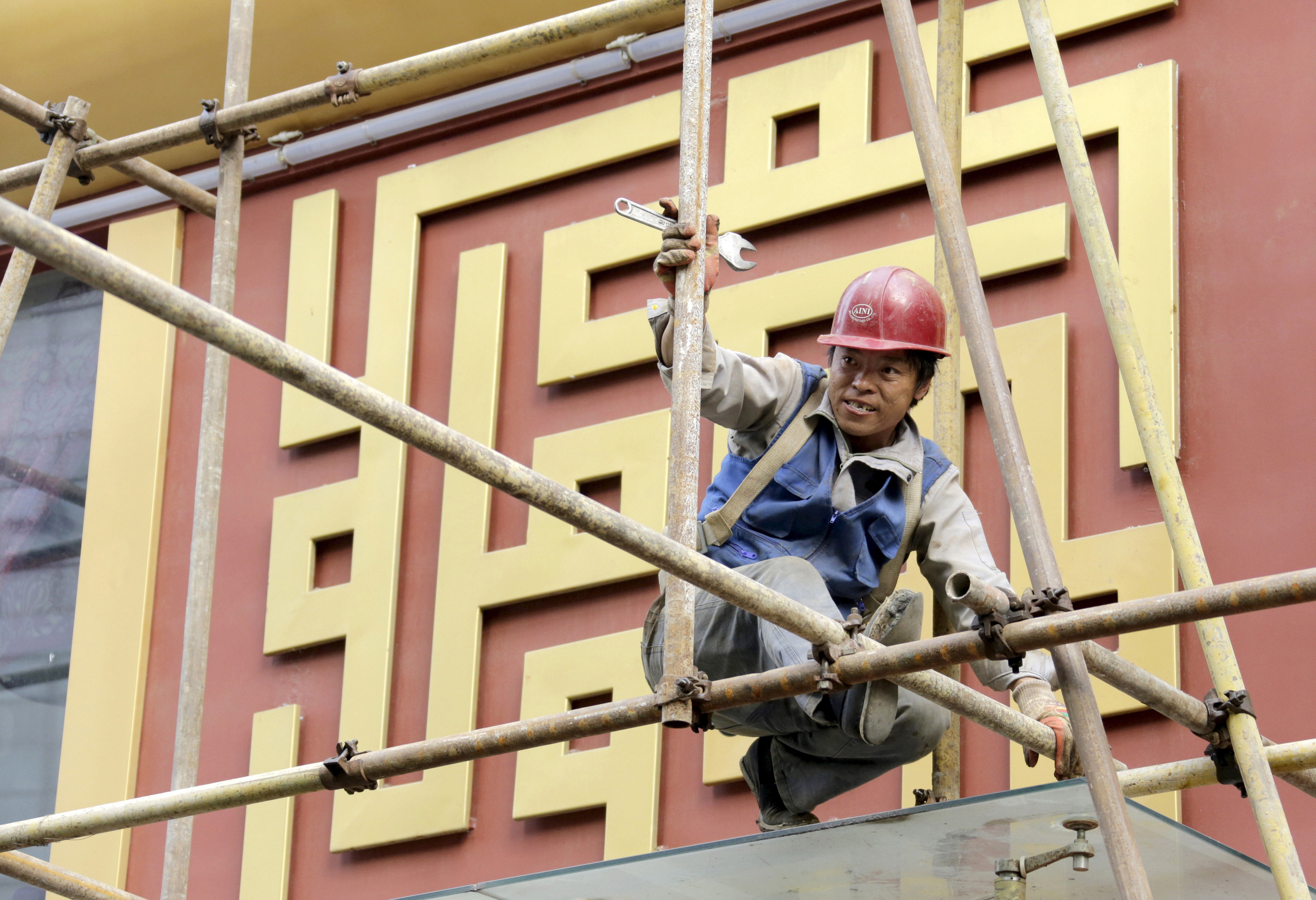 China's growth falls to 6.9% in July-Sep