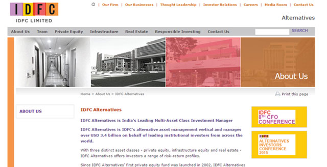 IDFC Alternatives to launch realty NBFC