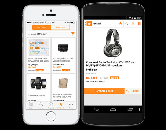 Micromax invests in price comparison app Scandid