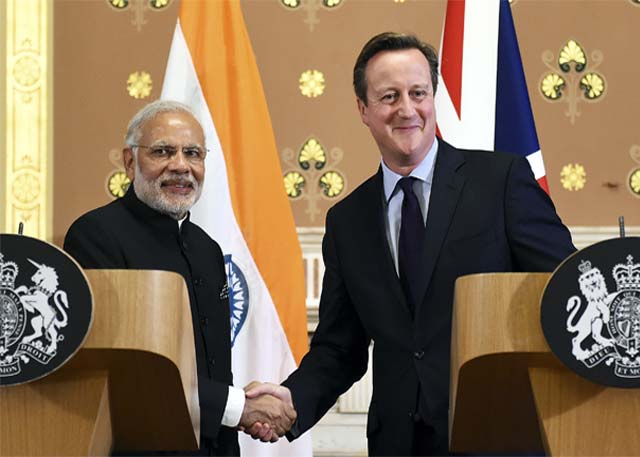 India, UK sign $4.8B deal on energy, climate change